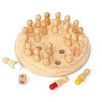 Morza-Holz-Rund-Memory-Match-Stick-Schach-Spiel-spielt-Holz-Kinder-Kinder-frhe-pdagogische-Blcke-Toy-Geburtstags-Geschenk Morza Holz-Rund Memory Match Stick-Schach-Spiel spielt Holz Kinder Kinder frühe pädagogische Blöcke Toy Geburtstags-Geschenk -