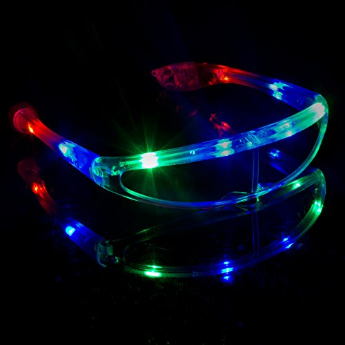 Fun Central G731 LED Light Up Spaceman Shades