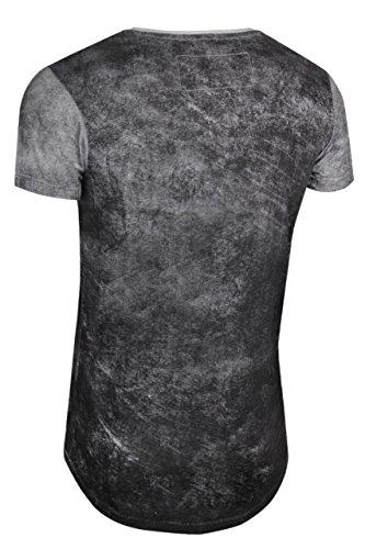 trueprodigy Casual Herren Marken T-Shirt mit Aufdruck, Oberteil cool und stylisch mit Rundhals (kurzarm & Slim Fit), Shirt für Männer bedruckt Farbe: Schwarz 1072120-2999 Black
