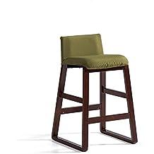 tabouret yanfei chaise de bar rtro barre de bois massif sige arrire 90 - Tabouret Bar Fer
