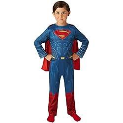 Superman - Disfraz Justice League Movie Classic infantil, M (Rubie's Spain 640811-M)