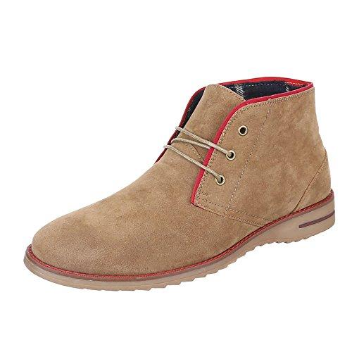 Ital-Design , Desert boots homme Beige