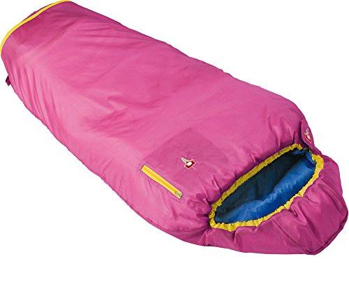 Grüezi+Bag Kinder Mitwachsender Kinderschlafsack Kids Grow Colorful, Rose, Körpergröße: von 100 bis 155 cm, 6501