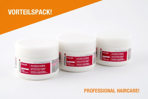 Goldwell Dualsenses color set di 3vasi di trattamento color Extra Rich 60secondi 3x 200ml