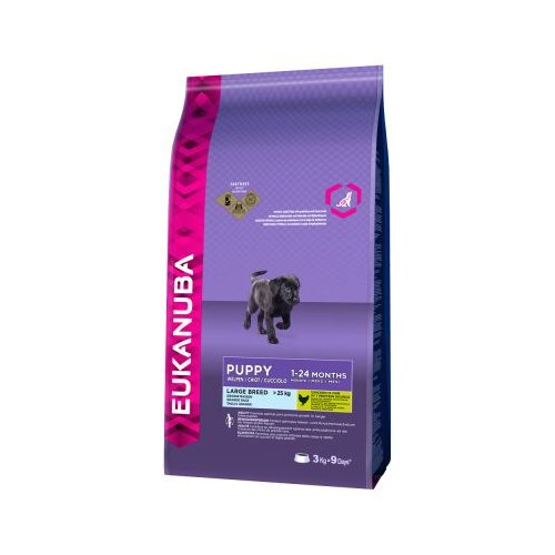 Eukanuba Puppy/Junior Large Breed 3 kg