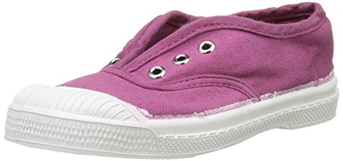 Bensimon Tennis Elly Enfant, Unisex-Kinder Hohe Sneakers Violet (Rouge Hortensia)