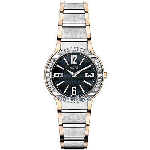Piaget Damen-Armbanduhr 32mm Armband Weißgold Silber Schweizer Quarz G0A36232