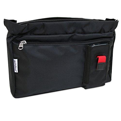 achilles®, Tasche in der Tasche, AD207, Handtaschen Organizer, 25 x 18,5 x 6 cm, schwarz