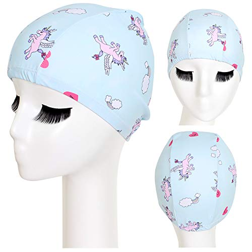Kaliya 3D Design Silicone Bonnet de Bain Soins des Cheveux Protection des Oreilles Bonnet de Bain