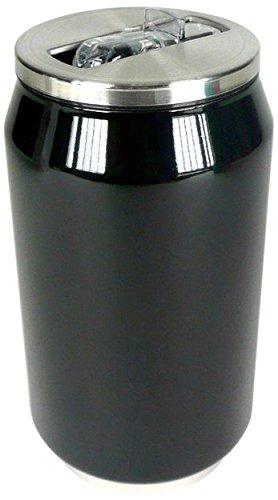 Yoko Design 1288 Canette Isotherme Inox Noir 13 cm