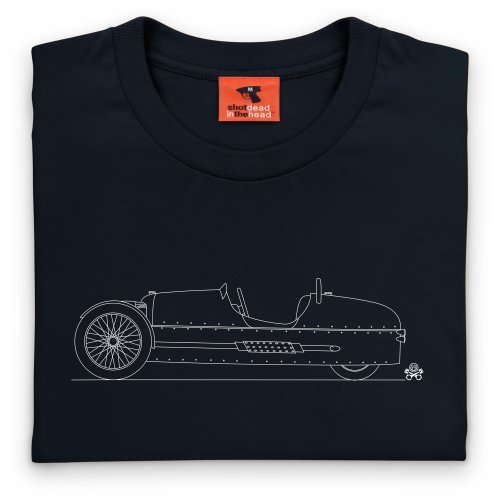 PistonHeads 2011 3 Wheeler Roadster T-shirt, Uomo Nero