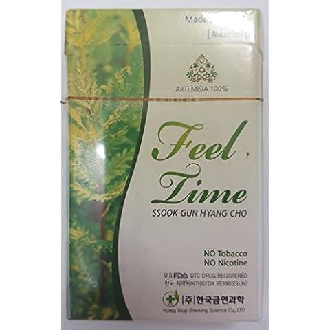 [Feel Time] sigarette alle erbe, 1 scatola (10 pacchetti, 200