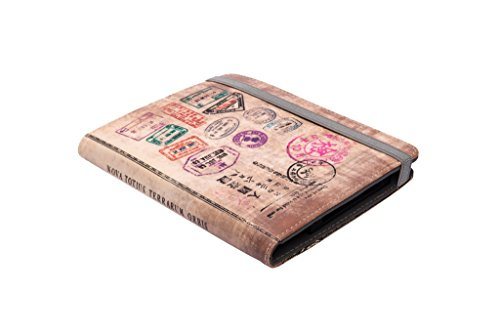 """Silver HT 111937140199 - Funda Universal de 6"""" para lectores de Libro electrónico con diseño Travel"""