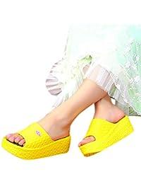 super popular 23a7e f5188 Produp Dicke Sohlen Mode Frauen Sommer Sandalen Plateauschuhe Strand Loch  Schuhe Nationalen Stil Strass Flache Schuhe