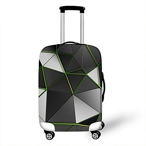 Copri valigia, Custodia protettiva per bagagli, Coperchio di protezione antipolvere con cerniera antipolvere elastico elasticizzato Nuovo Desigh