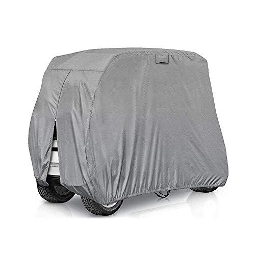 rt Cover Dach - Wasserdichtes Sunscreen 210D Oxford-Tuch mit Rucksackbeutel - Ideale Outdoor-Schutzausrüstung - für Verschiedene Golfmodelle ()