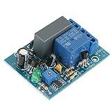 Akozon Zeitgeber Relais Modul 220VAC Einstellbare Timer Verzögerung Ausschalten Zeit Relay Modul Last 10A250VAC/10A30VDC Aus Optokoppel Relais Modul(0~10Stunde Automatisch aus)