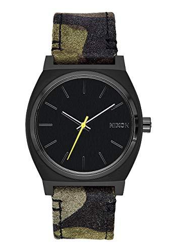 Nixon Unisex Adult Analogue Quartz Watch with Leather Strap A045-3054-00