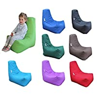 HH Home Hut Kids Bean Bag Chair Gaming Chair Beanbag Indoor & Outdoor Garden Big Arm Chair (Purple)