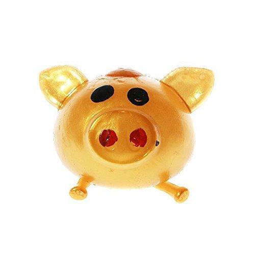s Relief Gelee Schwein Weiche Gummi-Wasser Kugel Stress Linderung Zufällige Farbe ()