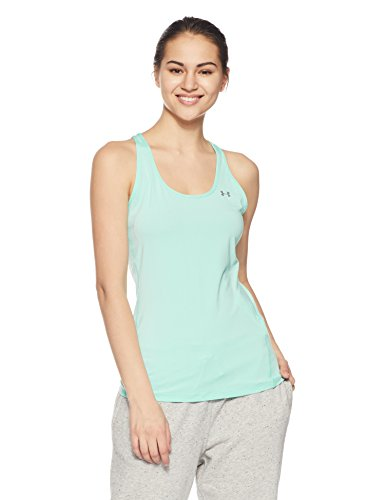 Under Armour Damen Hg Armour Racer Tank Fitness - T-Shirts & Tanks Blue Infinity M