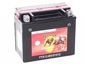 BANNER 510 12 Batterie Moto Bike Bull