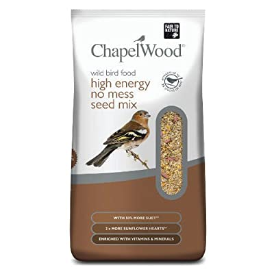 Chapelwood CPW3319 12.75 kg High Energy No Mess Bird Food - Mixed by Chapelwood