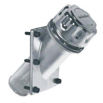 Hydraulische füllung und motorentlüftung stecker mit level teststreifen auf geneigten flansch LSFI5G
