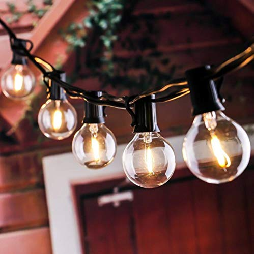 Imported From Abroad 6m 20 Led Clear Globe Indoor Outdoor Decoration Plastic Bulb Festoon Party Garden Yard Fence Lamp Holiday String Lights Security & Protection Access Control Kits