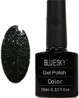 Bluesky UV/LED Gel Nail Polish, Frosty Midnight 10 ml by Bluesky