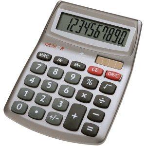 Genie Tischrechner 540 10-stellig silber