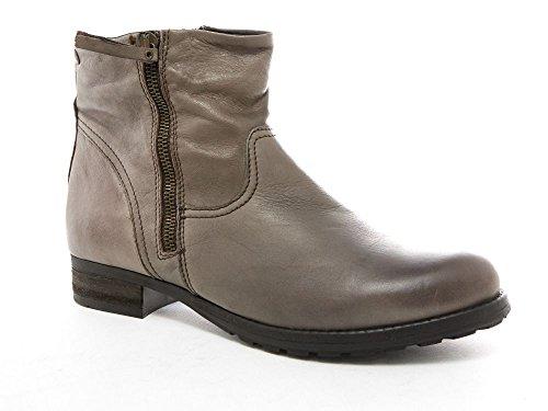 Gioseppo Damen Stiefelette Boots Grau Leder Grau