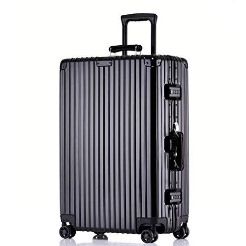 Rollende Laptop-Tasche, Kabine Leichtes Hardshell-Gepäck 4-Rad-PC + ABS-Reise-Trolley-Koffer-Set Reisetasche, 3 Farben, 2 Größen -