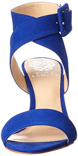 Vince Camuto Casara Cuir Sandales Royal Blue