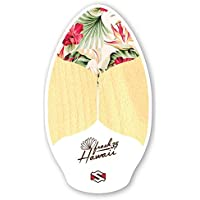 Skimboard Skimone 35/90 cm Fresh Hawaii White Wake Skate Ondas Tabla playa Tabla Madera
