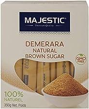 Majestic Demerara Natural Brown Sugar, 350 gm