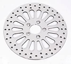 Demons Cycle 11. 8 Polished Rear Disc Rotor for 08-09 Harley-Davidson Touring Brakes