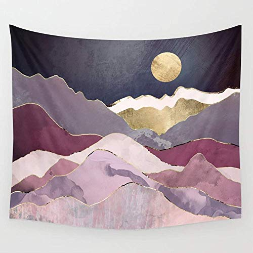 BAOQIN Tapisserie Raspberry Dream Wall Tapestry Hanging Tapestries Wall Art for Living Room Bedroom Dorm Decor 80 X 60 Inch (Wandbehang-quilt-rack)