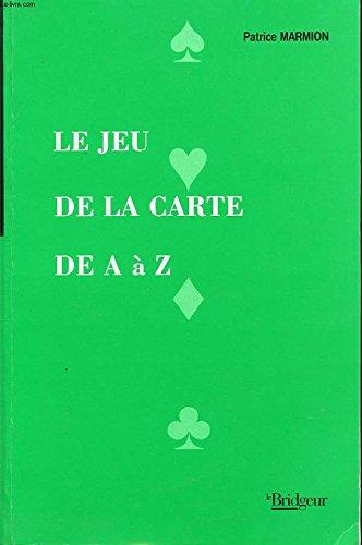 Jeu de la Carte de a a Z par Patrice Marmion
