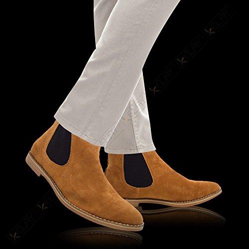 Xelay , Boots Chelsea homme peau