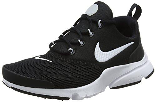 new style be8a2 1c8ff Nike Presto Fly Bg, Chaussures de Gymnastique Garçon Noir (Black White Black