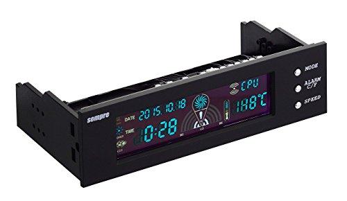 Sempre SE-MP-5FC3-BL 3x Lüftersteuerung mit LCD Display