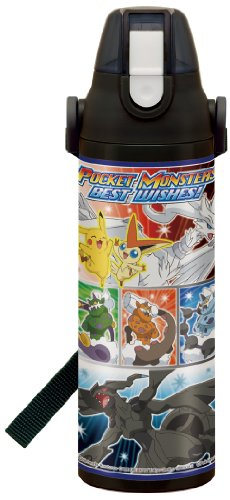 Pokemon (Best Wishes) lock with one push direct bottle 600ml SDS6R (japan import)