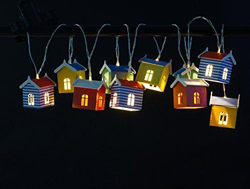 ISOTRONIC LED Solarlichterkette Solarlampe Solarleuchte / Solar Laterne, Hängeleuchte für Garten, Balkon und Außen Deko für Party, Fest, Hochzeit