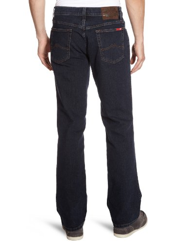 MUSTANG - Jeans Droit - Homme Bleu (stone washed 000)