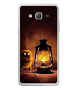 PrintVisa Designer Back Case Cover for Samsung Galaxy On 5 (lantern light splits the darkness)