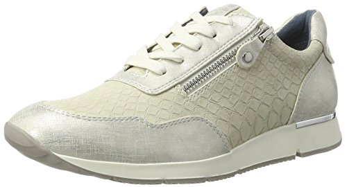 Tamaris 23684, Sneakers Basses Femme Ivoire (Offwhite Comb)