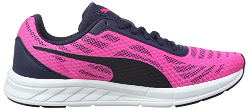 Puma Unisex-Kinder Meteor Low-Top Pink (Pink Glo/Puma Silver)