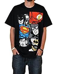 Superhéroes - Camiseta Liga de la Justicia - Batman, Superman & Flash