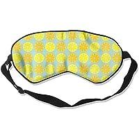 Yellow Lemon Seamless Illustration Sleep Eyes Masks - Comfortable Sleeping Mask Eye Cover For Travelling Night... preisvergleich bei billige-tabletten.eu